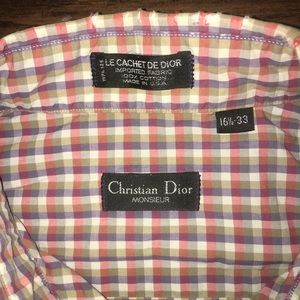 Dior Shirts - Vintage Christian Dior Button Up Longsleeve Shirt